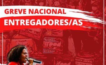 GREVE NACIONAL DE ENTREGADORES/RAS